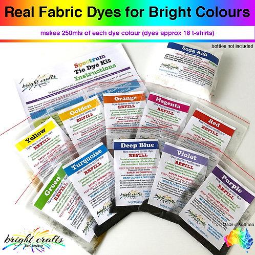 Spectrum Tie Dye Kit Refill