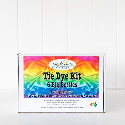 6 Big Bottles Tie Dye Kit