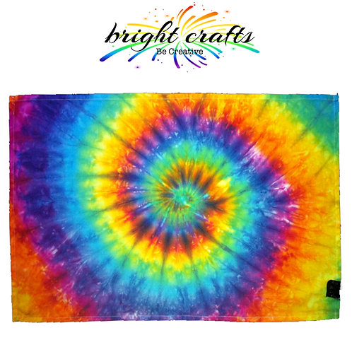 Tie Dye Tea Towel