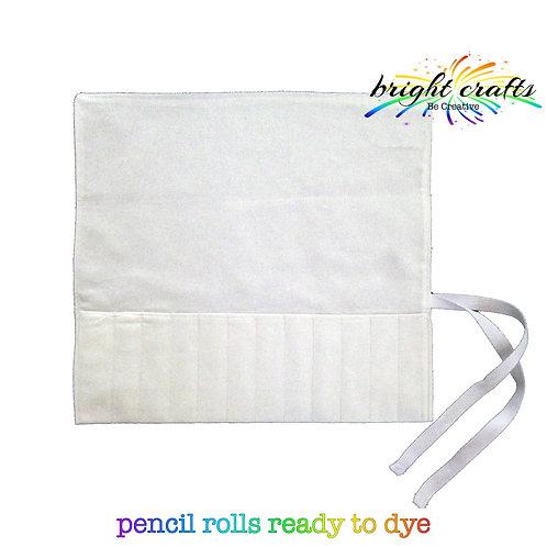 Pencil Roll (ready to Tie Dye)