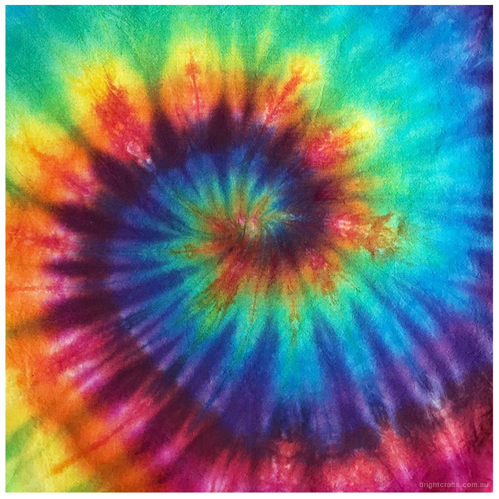 Tie Dye fractal spiral