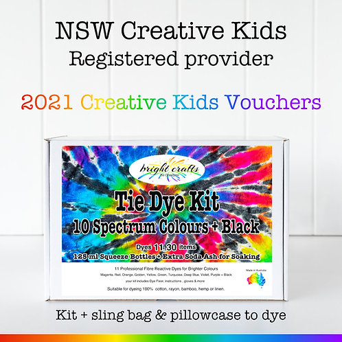 Creative Kids Tie Dye Kit - NSW