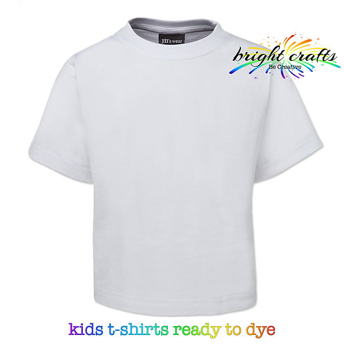 Children's T-shirt White (ready to dye)