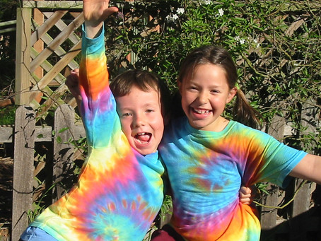 Tie Dyeing, it's been around longer than you think!