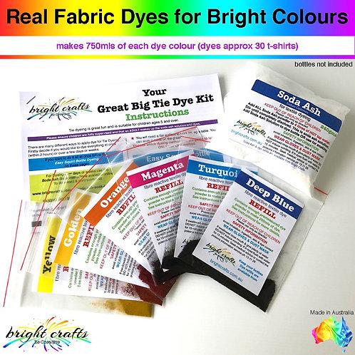 Great Big Tie Dye Kit - 3 x REFILL