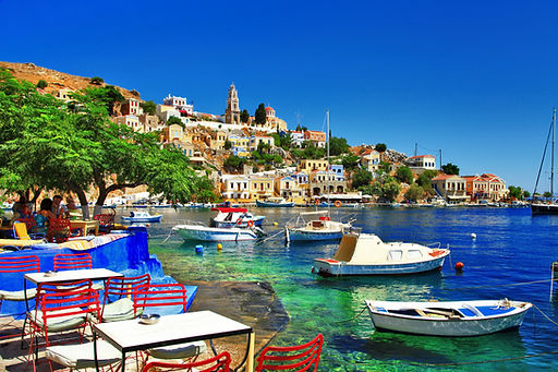 Greek holidays. Symi island_167887952.jp