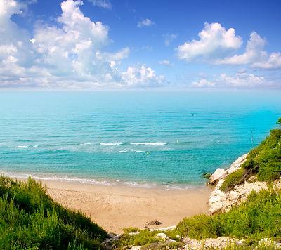 long beach Platja larga in Salou Tarrago