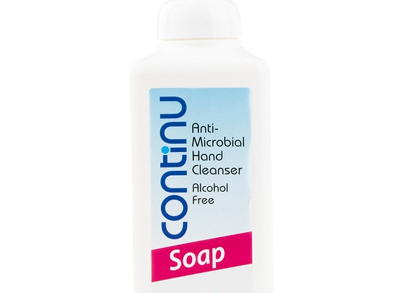 Continu Anti-Microbial Hand Sanitising Soap 600ml Pump Bottle