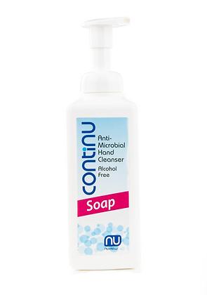 Continu Anti-Microbial Hand Sanitising Soap Pump Bottle (600ml)