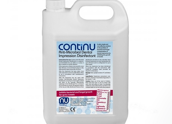 Continu Impression Disinfectant - 5 Litres