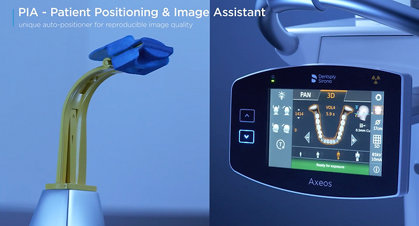 Dentsply Sirona Axeos Patient Positioning & Imaging Assistant