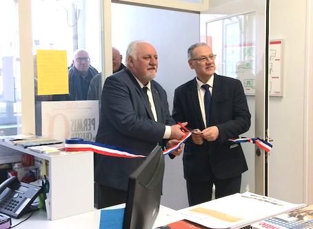 Inauguration de la Mairie rénovée