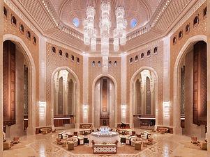 AL BUSTAN PALACE, a Ritz- Carlton Hotel.