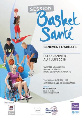Session Basket Santé à Bénévent