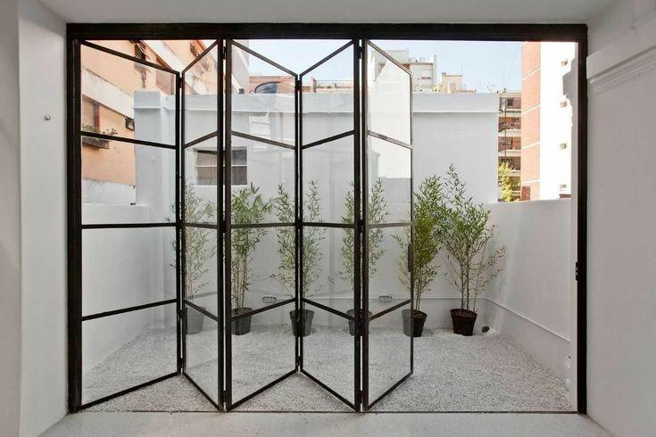 Steel-framed doors  bi-fold doors