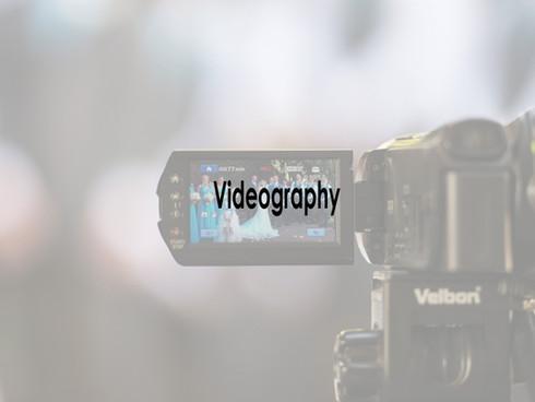 Videography for Wedding Shoot