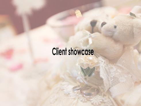 Client Showcase | Wedding Showcases for Client