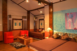 large space of bed room