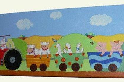Down on the Farm Canvas Art