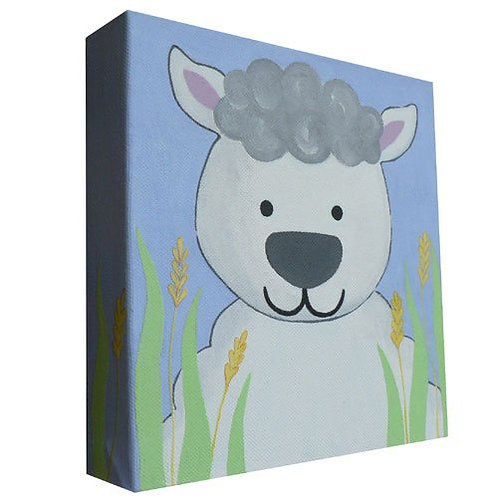 Lili Lamb Canvas Art
