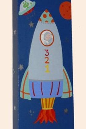 Rocket Ship Canvas Art