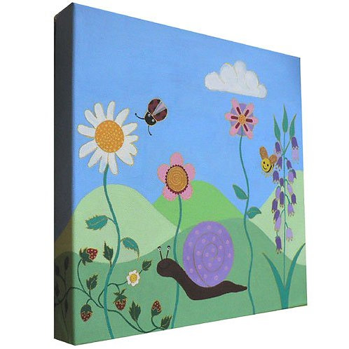 Cutey Garden Canvas Art