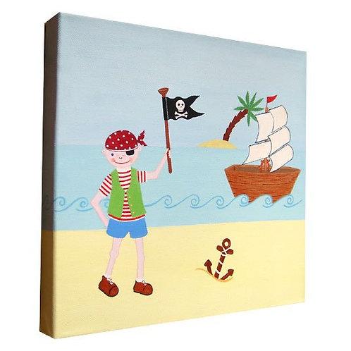 Pirate Boy Canvas Art