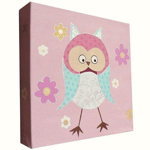 Cute Owl Canvas Art