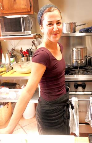 Ce qui inspire Karine:  La cuisine est la servante de la médecine ~ Terance