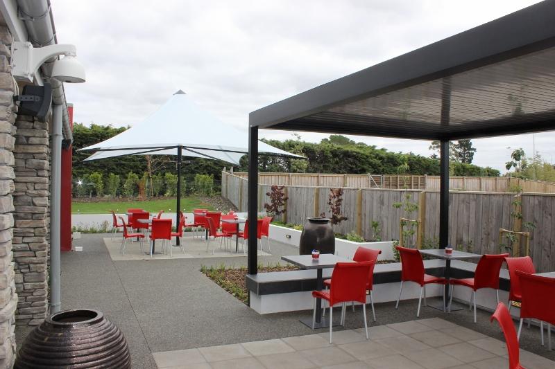 landscape design kaiapoi cafe