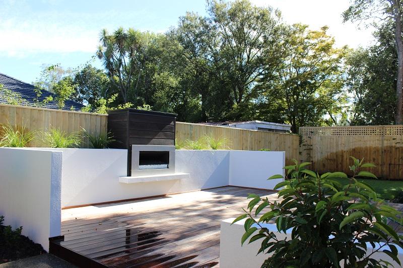 landscape design christchurch deck