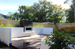 landscape design christchurch deck
