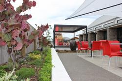 landscape design christchurch cafe