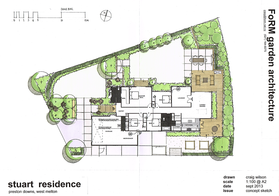 Plan examples garden architecture landscape design for Landscape design examples