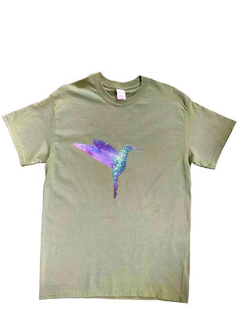Camiseta HOMBRE - Colibrí Alas de Zafiro