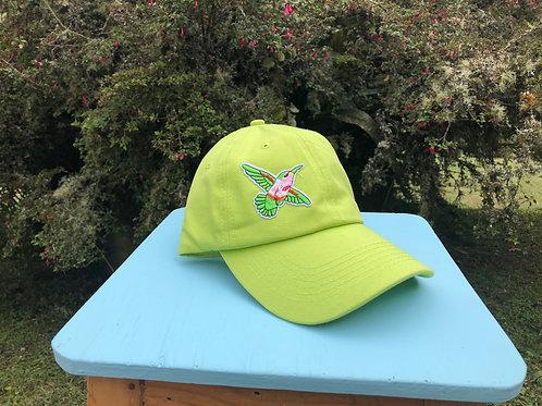 Gorra Verde limón Colibrí Planeador