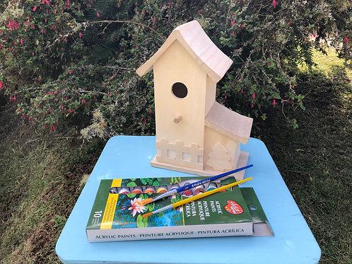 Proyecto - Casa de Pajaros para el jardín