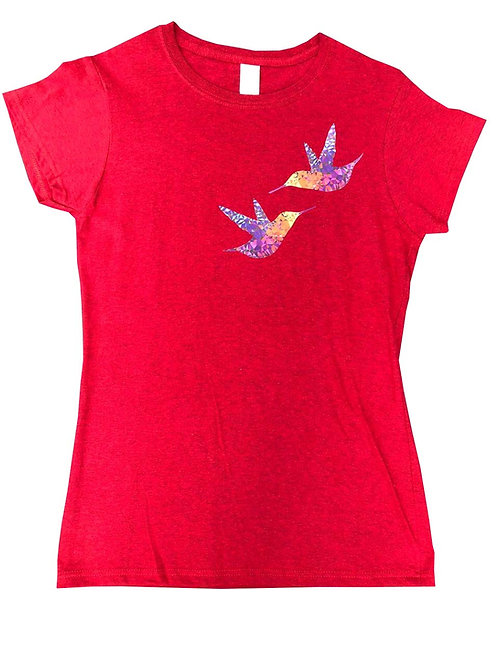Camiseta MUJER -Colibrí Estrella del Bosque