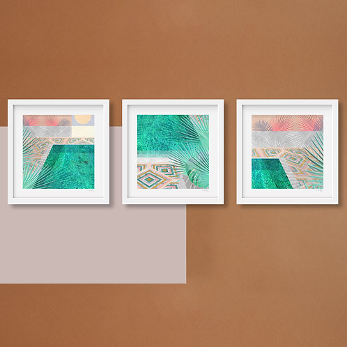 LOOK INTO THE SUN (Triptych - All 3)