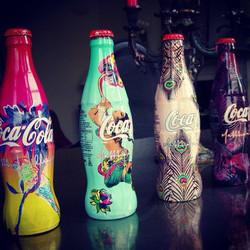 Ltd Edition Coca Cola Bottles