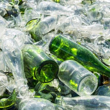 Reciclando vidrio