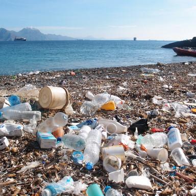 Envases en las playas