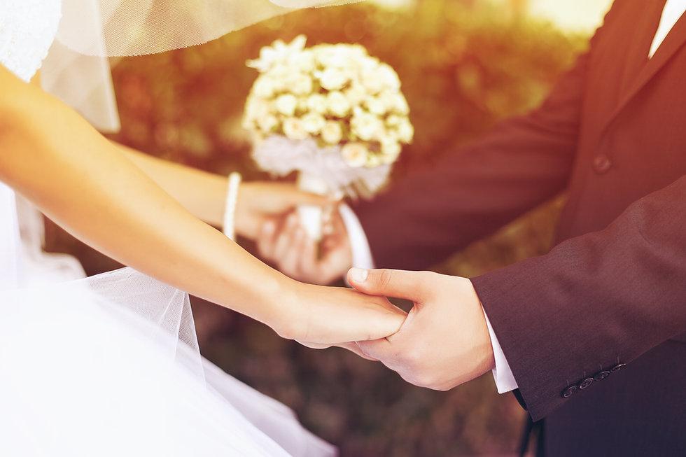 Wedding couple holding hands.jpg