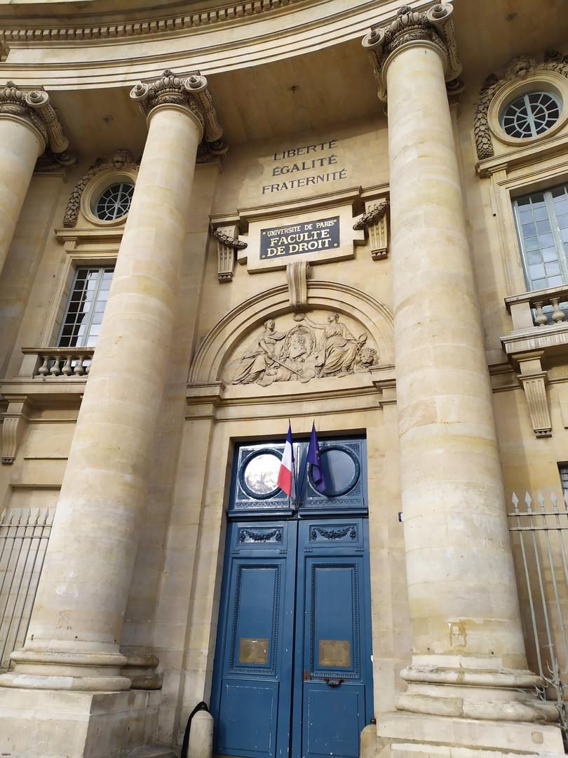 Facoltà di Diritto - Sorbona
