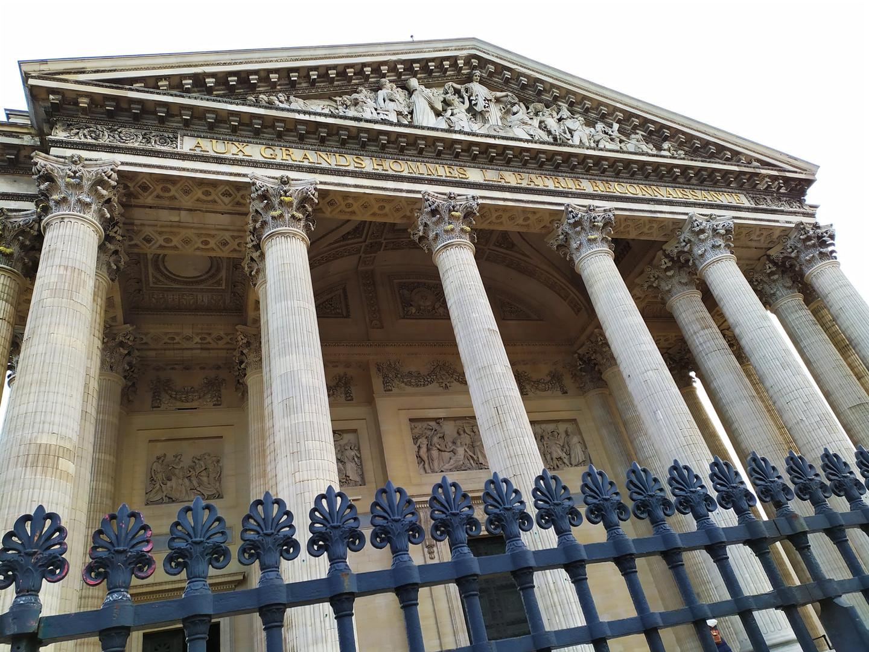 Panthéon - dettaglio
