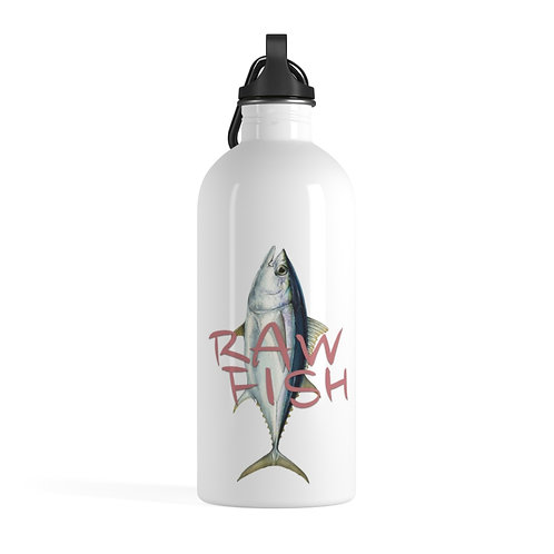 Pina Gold Raw Fish Stainless Steel Water Bottle