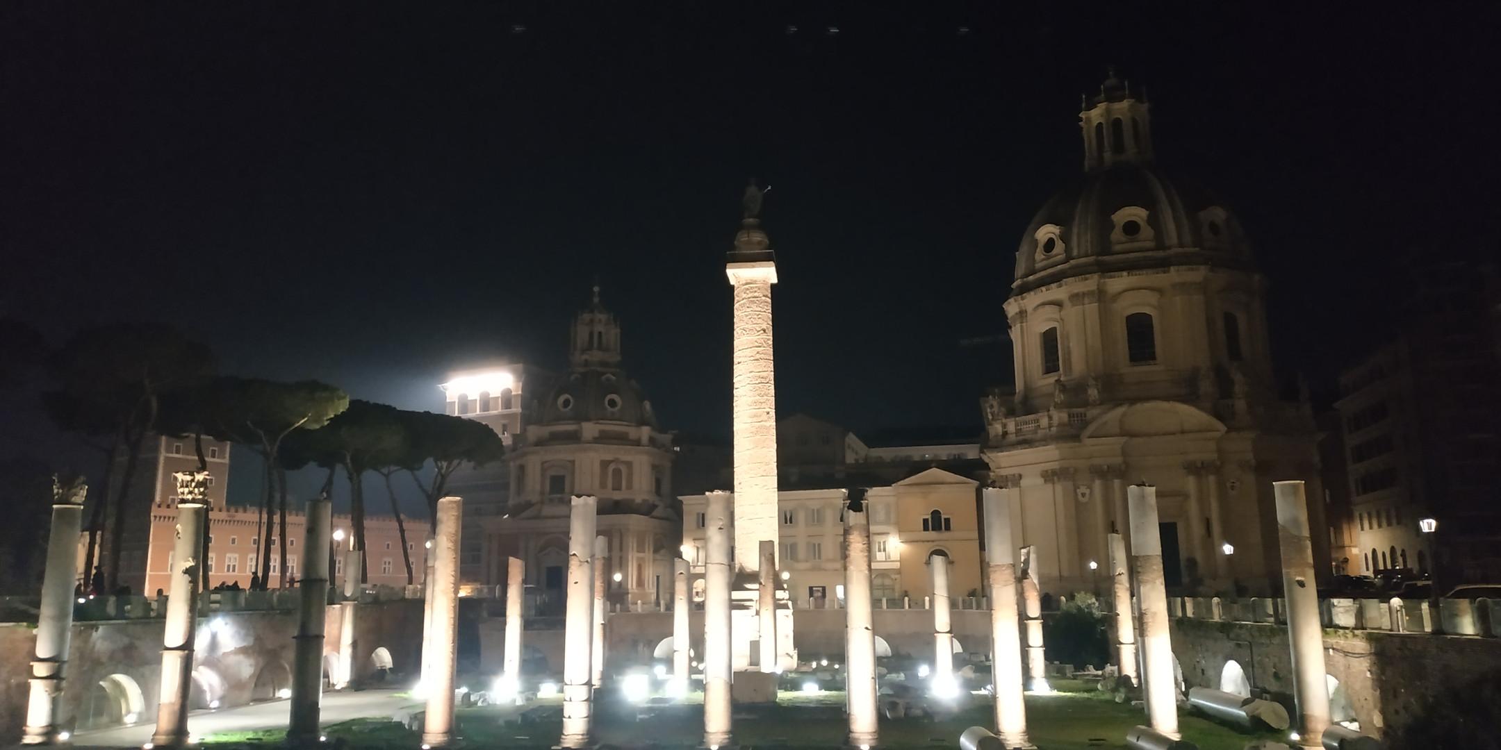 Fori Imperiali e Colonna Traiana