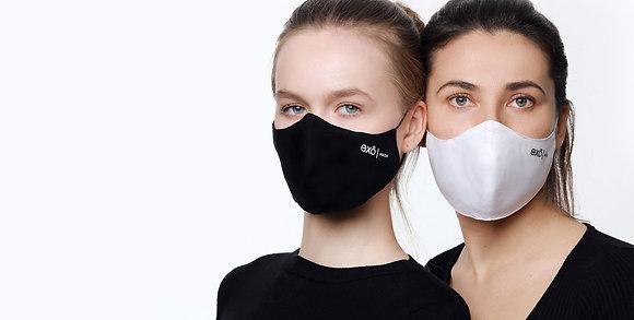 EXO Защитная многоразовая маска  для лица с СМС фильтром S/M/L