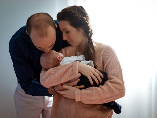 Bienvenue bébé - Séance nouveau né à la maison | Mérignac