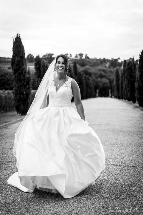 mariage, photographe langon, chateau malromé, josé dacunha